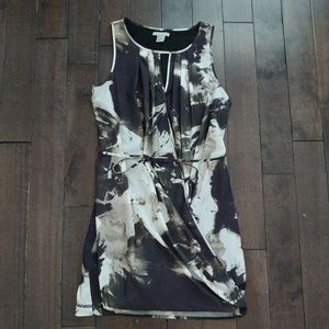 H&M Floral Dress tied waist wrap style size 2